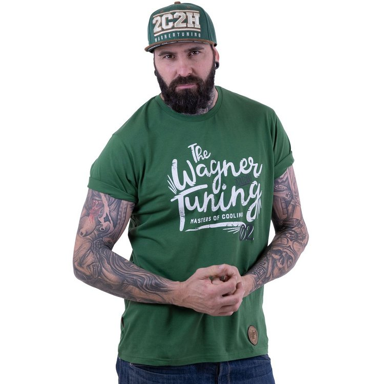 »Masters of Cooling«  green T-Shirt