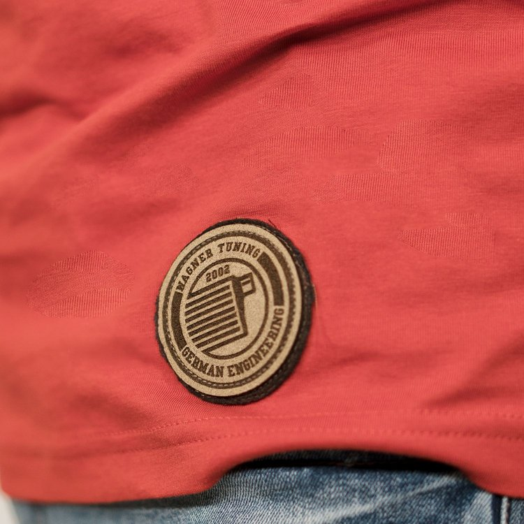»Masters of Cooling«  red T-Shirt