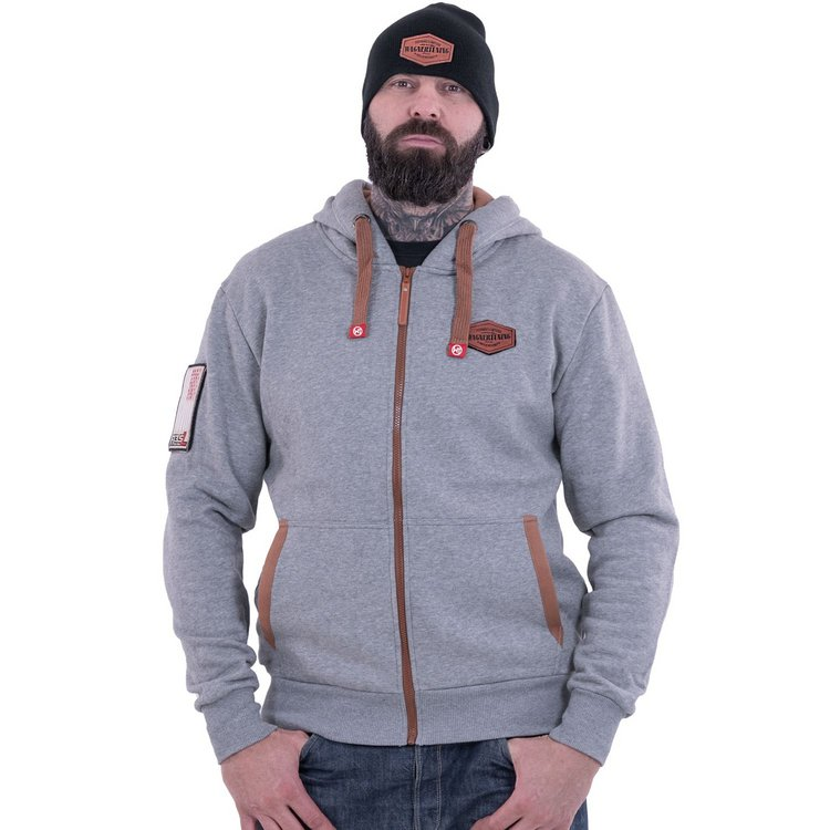 Hoodie zipped »Ford F1 Grey« XS