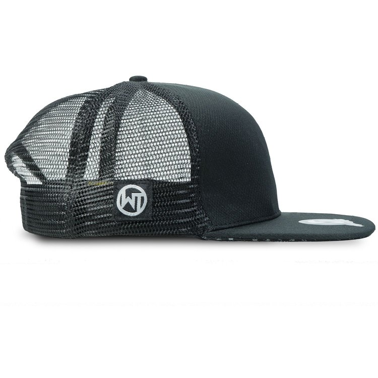 Snapback Cap »Black Rubber«