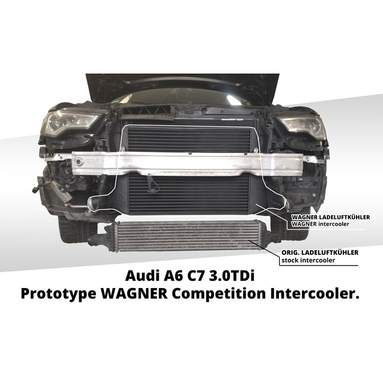 Performance Ladeluftkühler Kit Audi A6 C7 3,0BiTDI