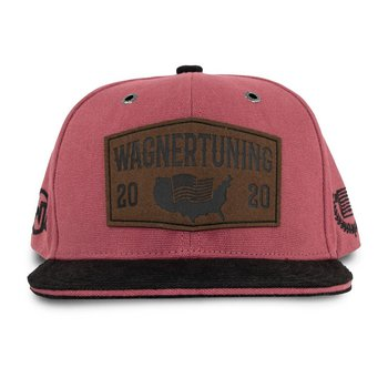 WAGNERTUNING Snapback Cap »Red Leather Patch«
