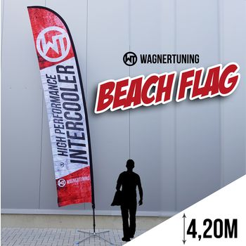 Beachflag Set 4,20m
